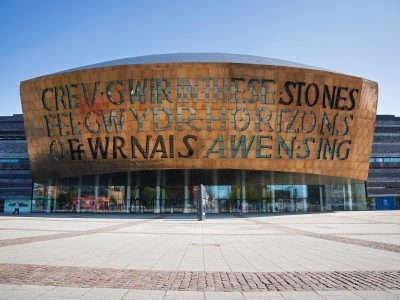 Wales Millennium Centre Cardiff South Wales