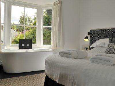 Manorhaus Llangollen guesthouse North Wales bedroom