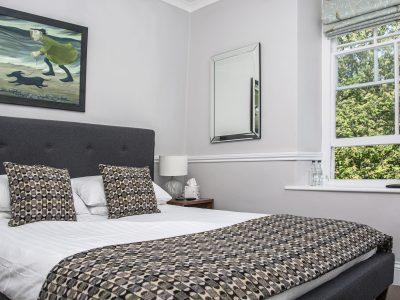 Llety Brynawel, Aberdyfi, bedroom, North Wales