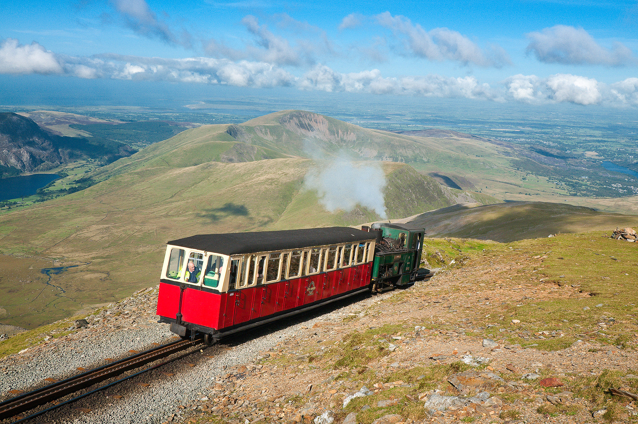 Snowdon Mountain Railway, things to see and do in North Wales