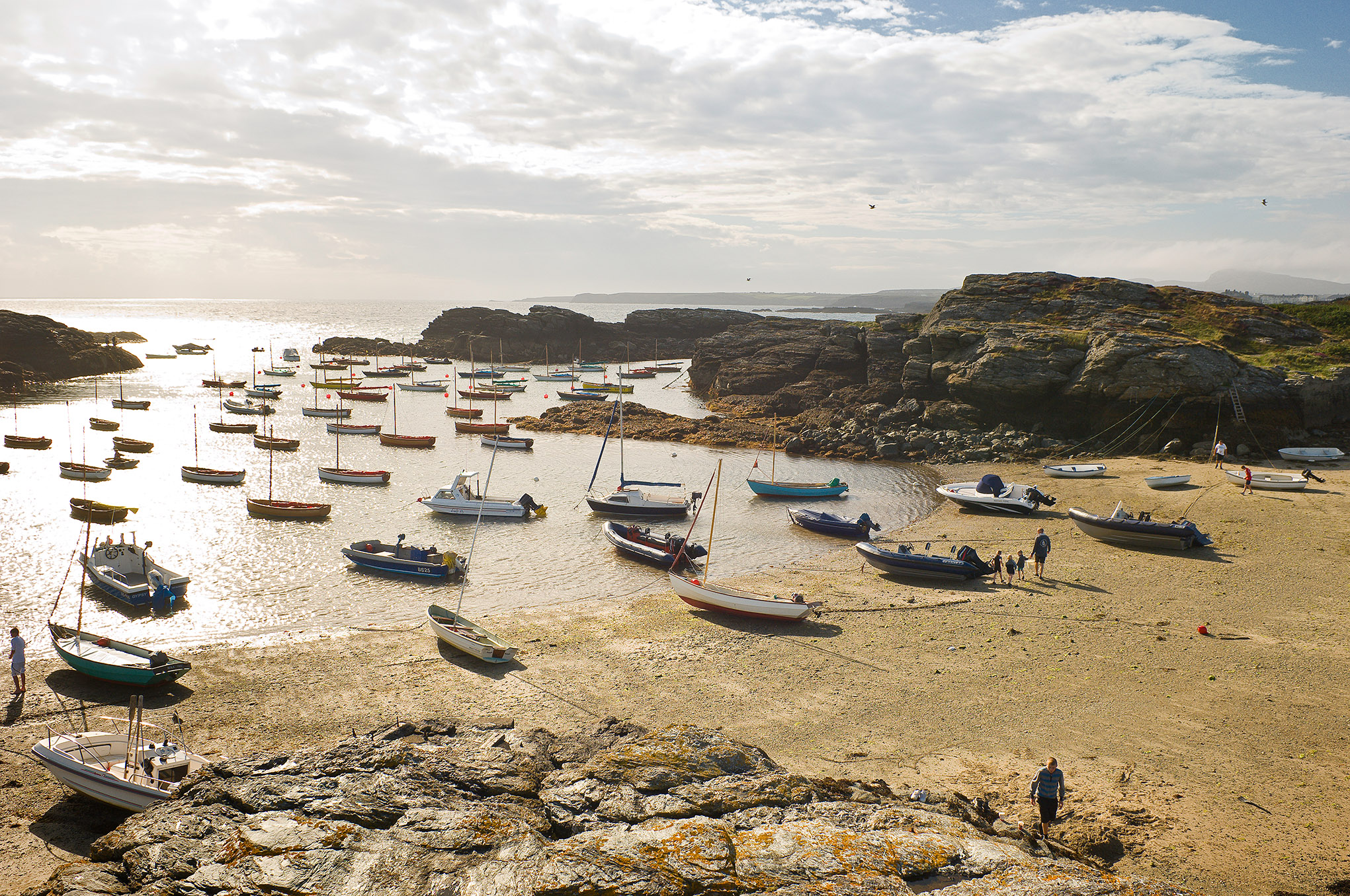 Trearddur Harbour Isle of Anglesey North Wales