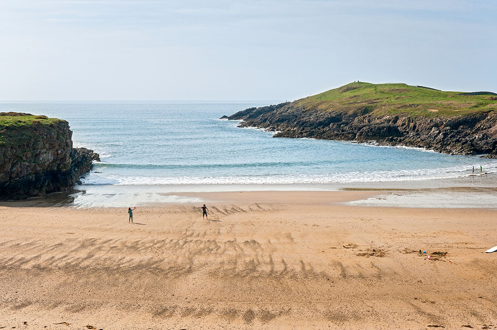 Cable Bay Porth Trecastell Beach Anglesey