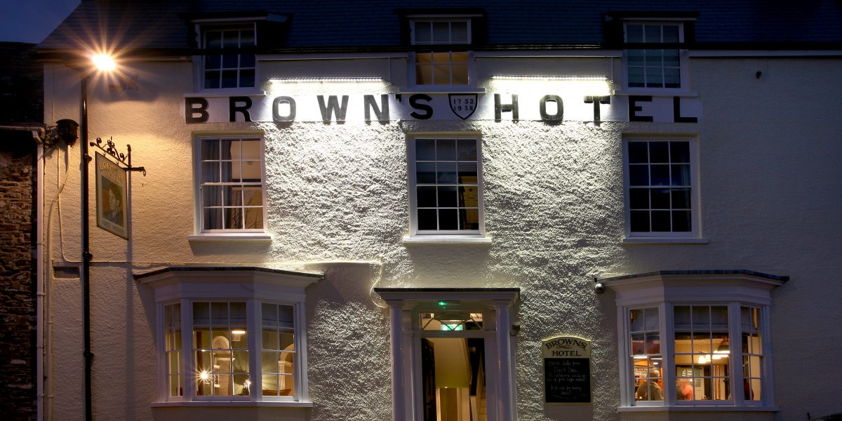 The Browns Laugharne Carmarthenshire