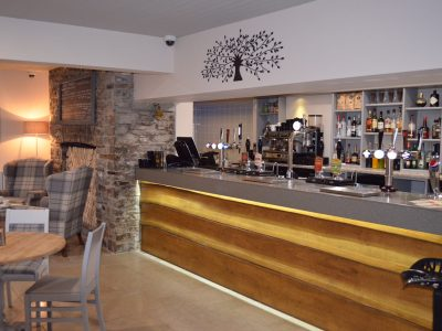 Bar at Bedroom at Waun Wyllt Inn Llanelli South West Wales