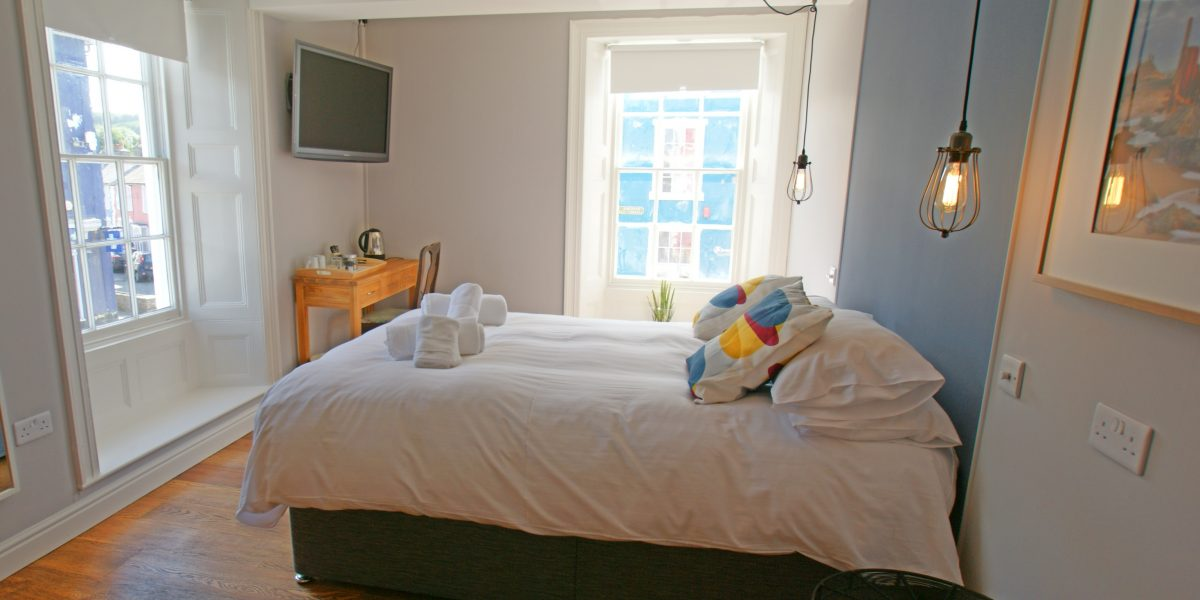 Castle Aberaeron Bed and breakfast inn Cardigan Bay coast