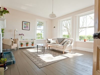 Lounge at The Old Vicarage Moylegrove Pembrokeshire South West Wales