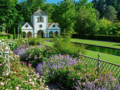 Top Gardens in Bodnant, Wales